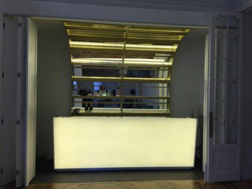 Iluminación barras