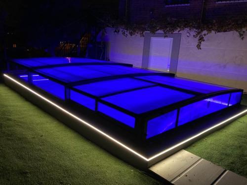 tiras de led piscina electricista mario